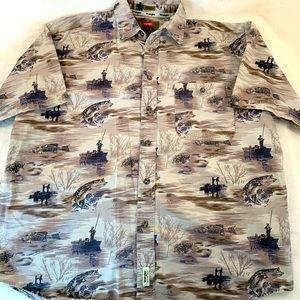 Wrangler Outdoor Button Up Shirt Men's L